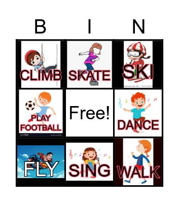 Can You Skate? Bingo Card