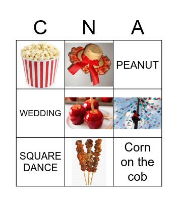 June Party Bingo Card