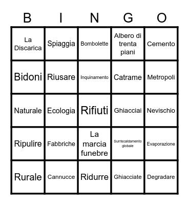 L'AMBIENTE Bingo Card