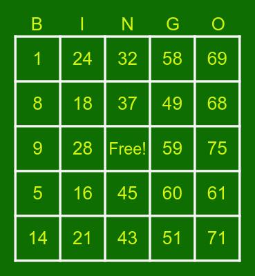 IGN - Jahmeel Bingo Card