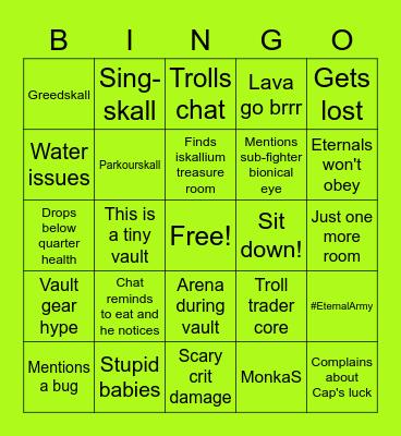 Iskall VH Bingo Card