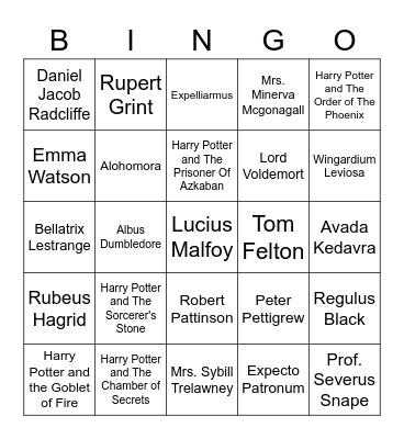 M I N J U Bingo Card