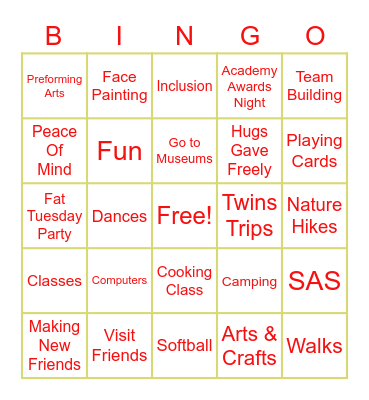 L.I.S.T.E.N Bingo Card