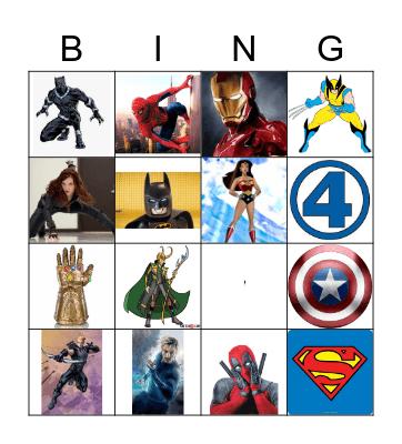 Super Bingo! Bingo Card