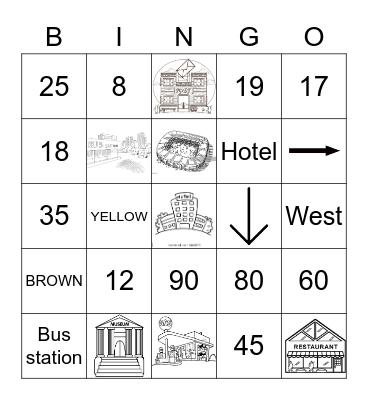 Bingo - 3rd Grade Bingo Card