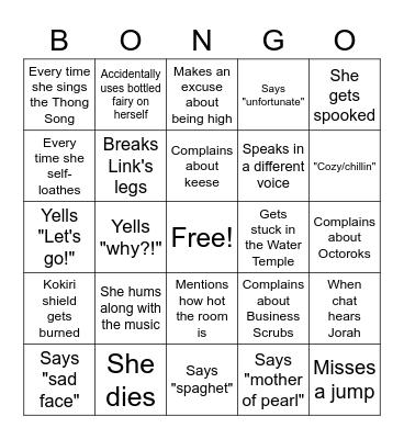 Randomizer Race Bingo! Bingo Card