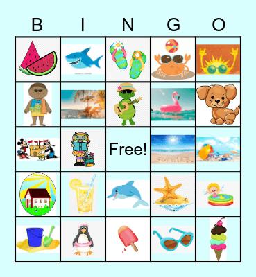 Summer Images Bingo Card