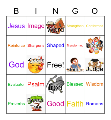 June 27, 2021 Bingo Card