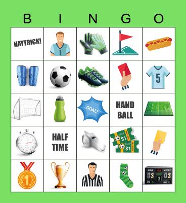 LET'S KICK OFF SOME FUN! Bingo Card