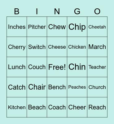 CH Bingo Card