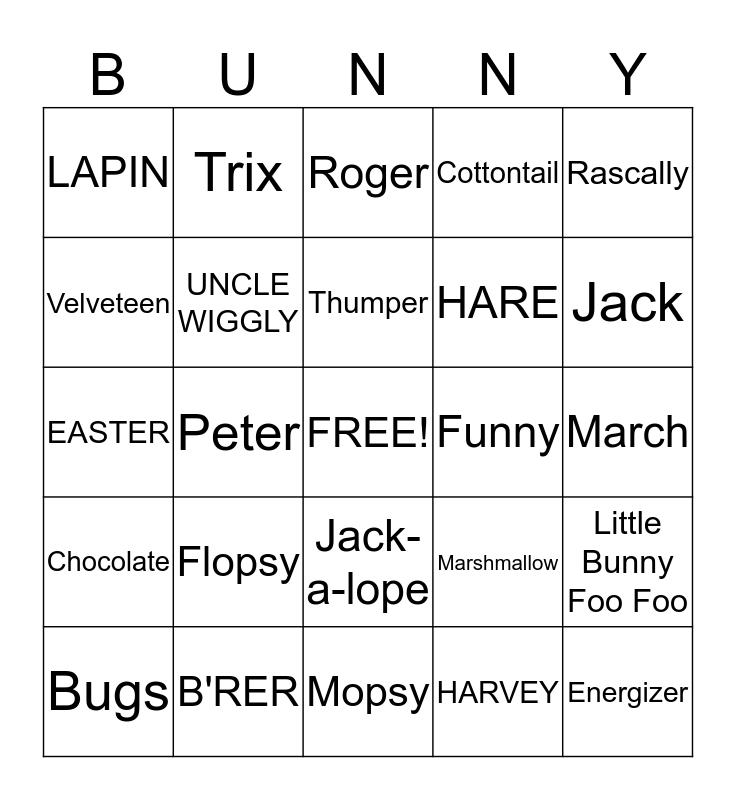 Easter bingo download