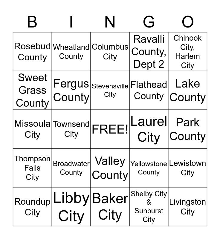 2015 Clerk Conference Bingo Card