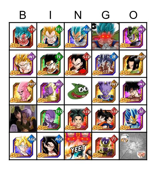 Dokkanteca Bingo Card