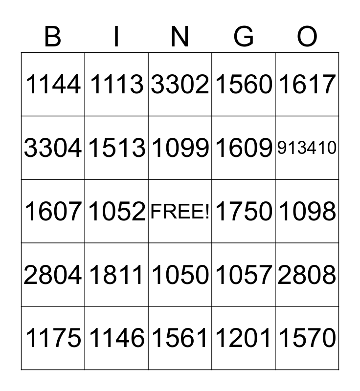 USE CUSTOMER SERVICE  Bingo Card