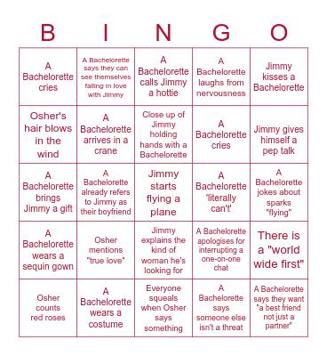 Bachie Bingo Card