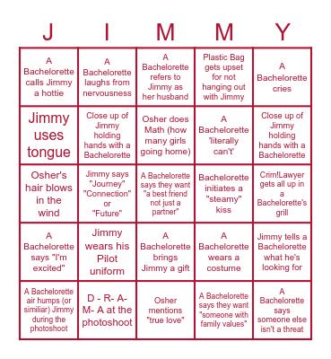 Bachie Bingo: LOCKDOWN DRUNK EDITION Bingo Card