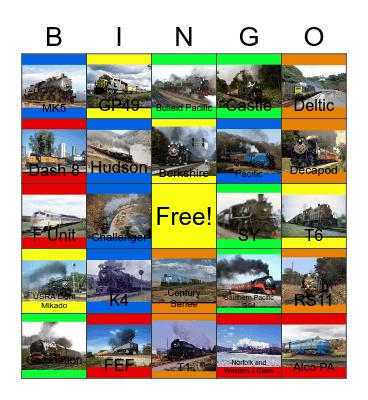 Loco Gallery Bingo Card