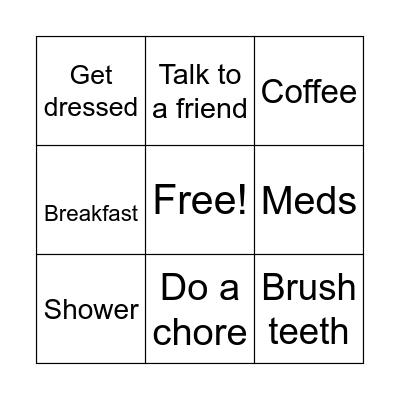 Today Bingo Card