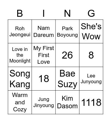 BINGO WITH PAT Bingo Card