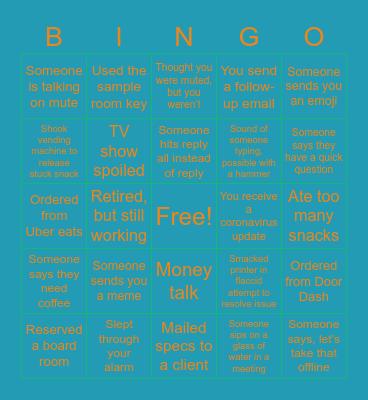 Douron Bingo Card