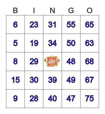 Festival de Prêmios Bingo Card