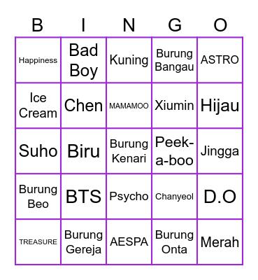 @aintmoonbyul Bingo Card