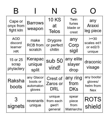 TUC PVM Bingo! Bingo Card