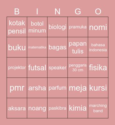 BINGO WITH LOUI Bingo Card