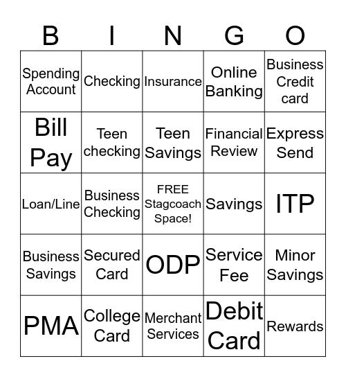 Teller Bingo Card