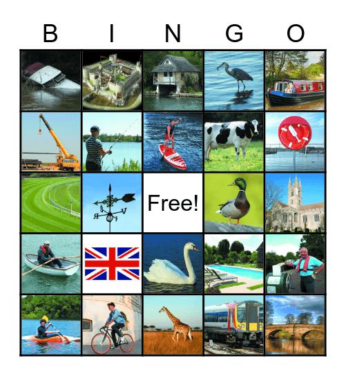 Boating Bingo Card