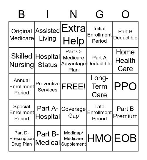 Hunt Insurance Solutions Bingo Card