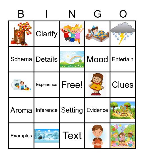 Inference Bingo Card