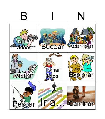 Verbos Geography Unit Bingo Card
