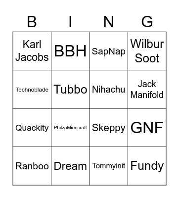 Have you watched them?? Bingo Card