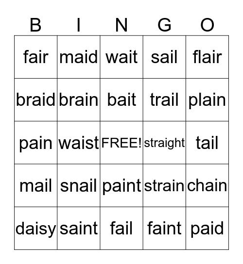 ai Bingo Card