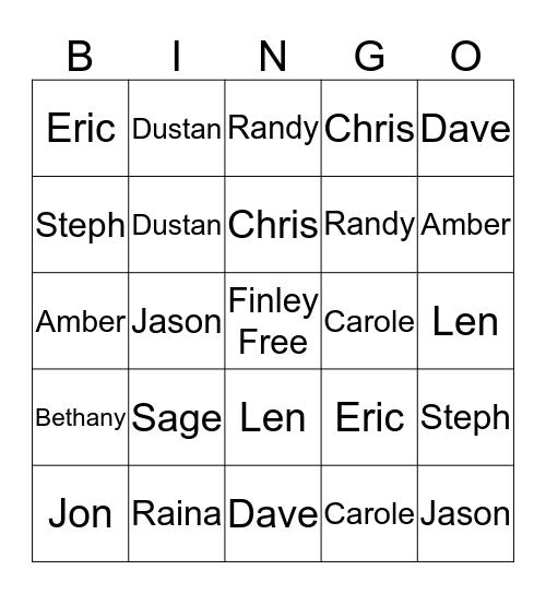 Super Special Christmas Bingo Trivia Extravaganza Bingo Card