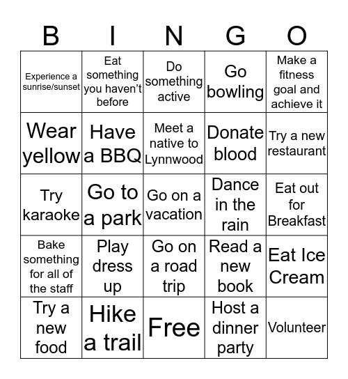 Briannan Cohrs Bingo Card