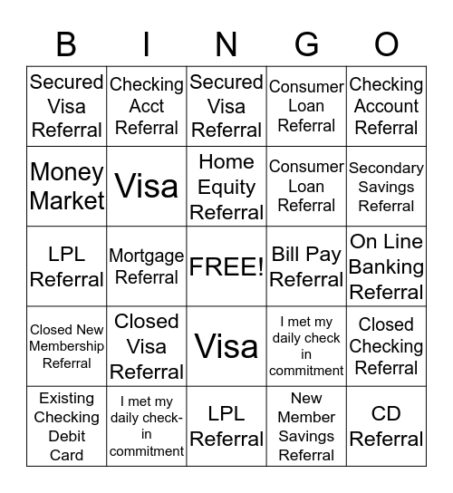 I.N.S.P.I.R.E. Bingo Card