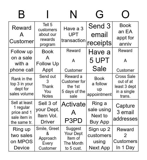 May HY Bingo Card
