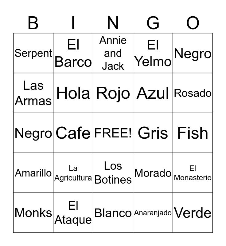 VIKINGO BINGO Card
