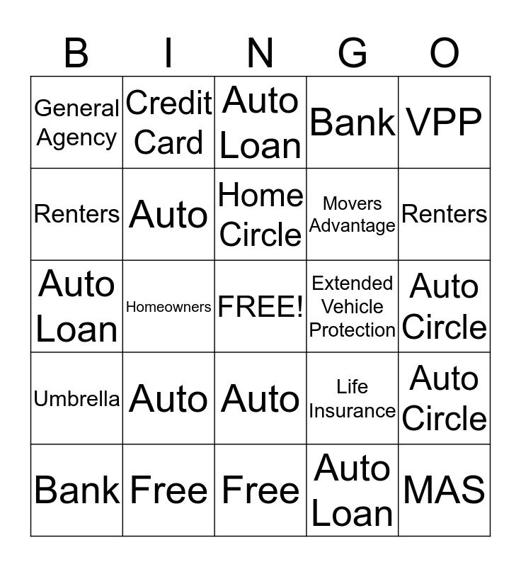 Team King Bingo Card