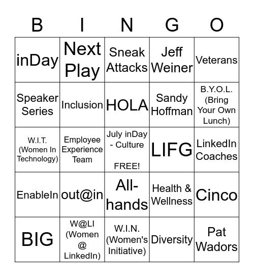 Jeopardingo - Where Jeopardy & Bingo Collide! Bingo Card