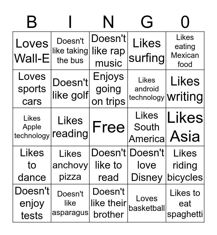 Super Bingo 3 Bingo Card