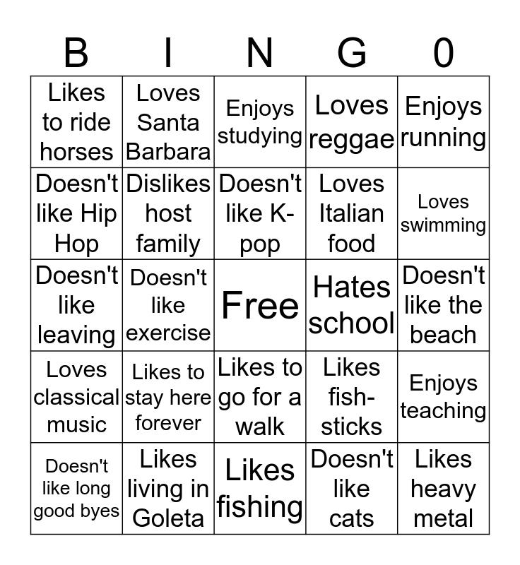 Super Bingo 4 Bingo Card