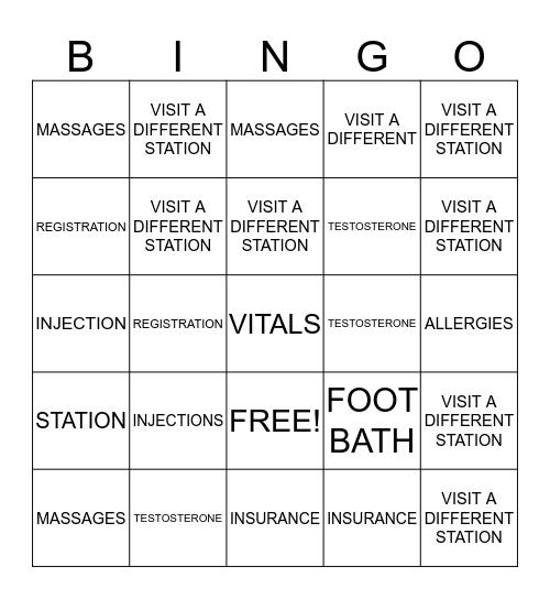 FALL BACK INTO WELLNESS Bingo Card