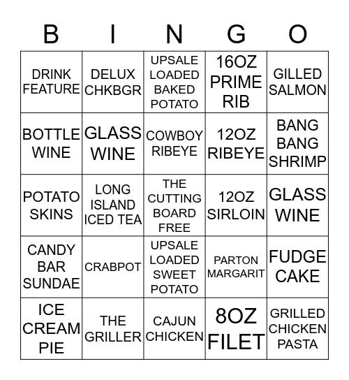 GET THOSE SALES UP!!! Bingo Card