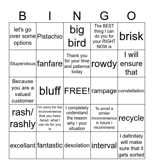 AS SUMMER FADES DONT LET YOUR CONFIDENCE! Bingo Card