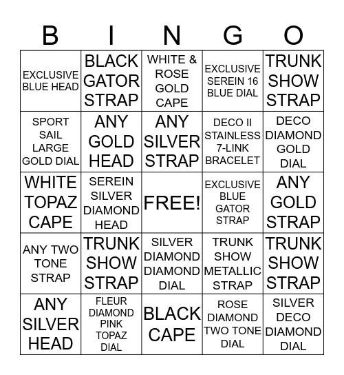 MICHELE FOCUS WEEK BINGO SEPT 6-19 Bingo Card