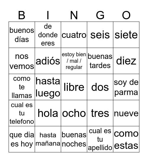 Whatever You Like Bingo Card
