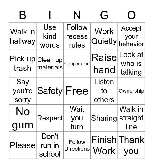 S.O.A.R Bingo!!! Bingo Card